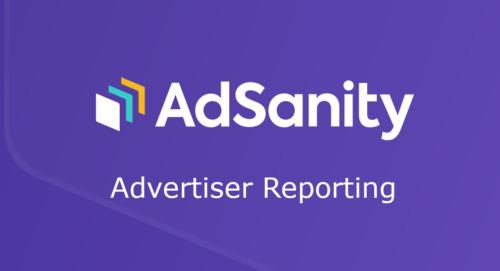 AdSanity – Advertiser Reporting