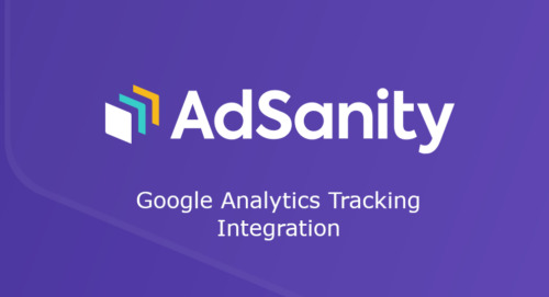 AdSanity – Google Analytics Tracking Integration