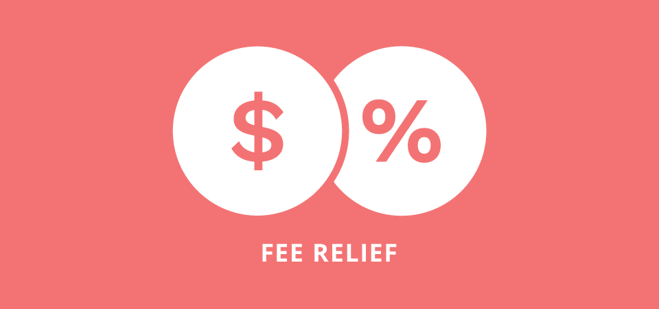 Charitable – Fee Relief