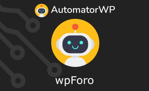 AutomatorWP – wpForo