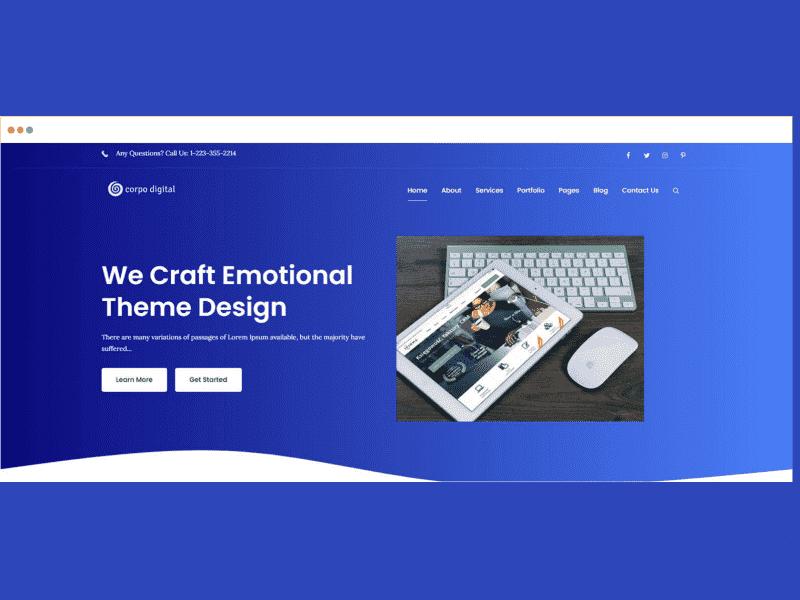 Theme Palace – Corpo Digital Pro