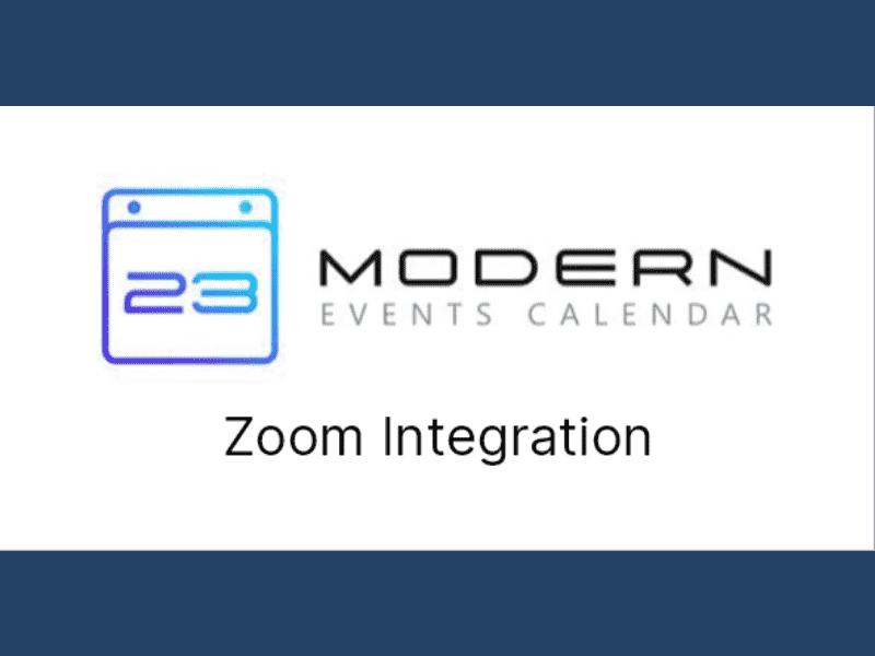 Modern Events Calendar – Zoom Integration