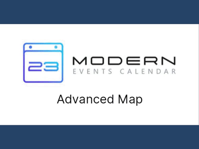 Modern Events Calendar – Advanced Map