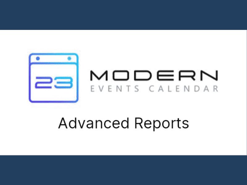 Modern Events Calendar – Advanced Reports