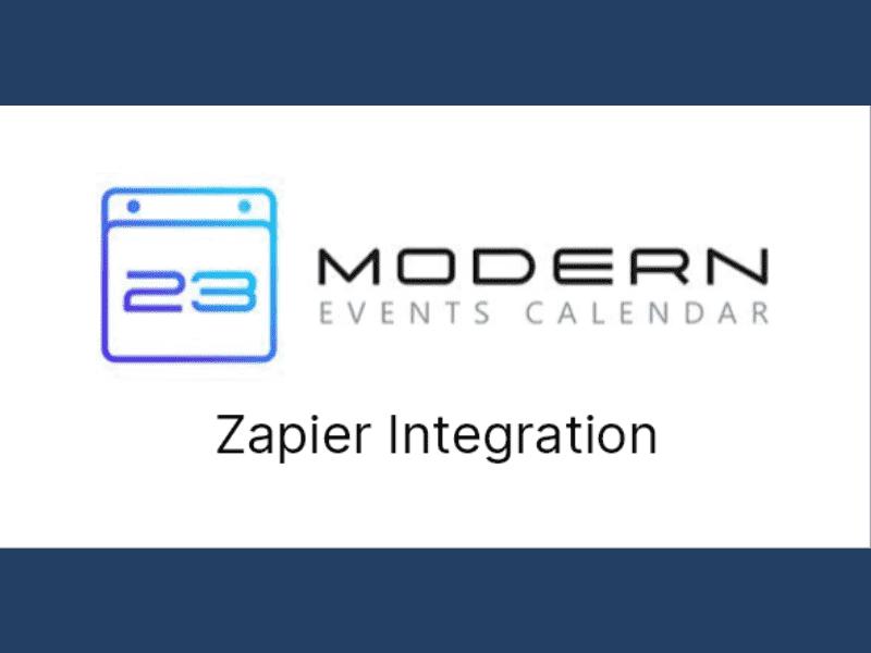 Modern Events Calendar – Zapier Integration