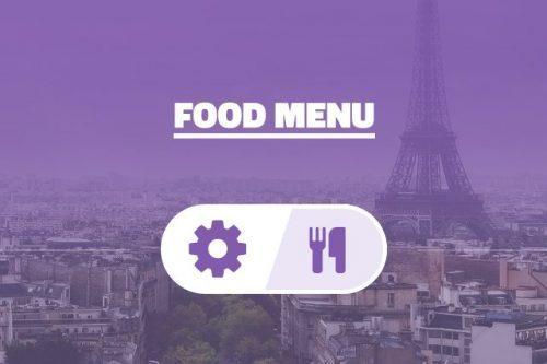 AIT – Food Menu