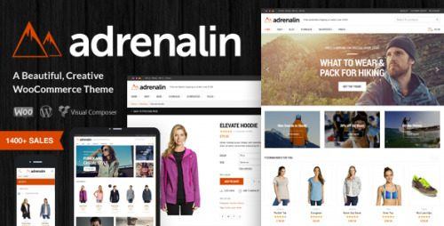 Adrenalin – Multi-Purpose WooCommerce Theme