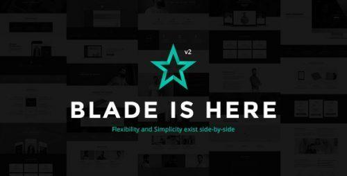 Blade – Responsive Multi-Functional Theme