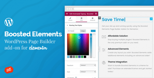 Boosted Elements | WordPress Page Builder Add-on for Elementor – Codecanyon