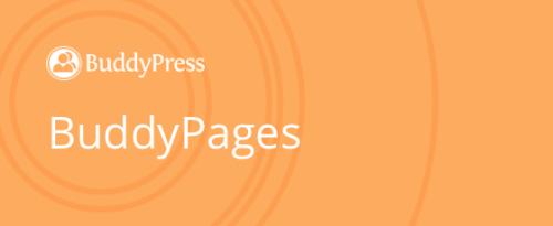 BuddyPages by WebDevStudios