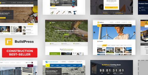 BuildPress – Multi-purpose Construction and Landscape WP Theme