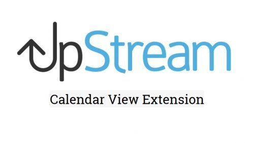 UpStream – Calendar View