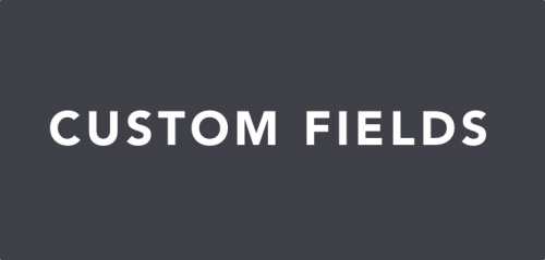 Conductor – Custom Fields Add-On