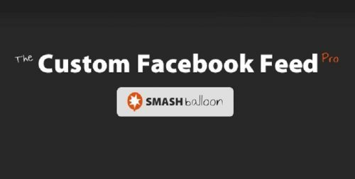 Custom Facebook Feed Pro (By Smash Balloon) – Add a completely customizable Facebook feed to your WordPress site