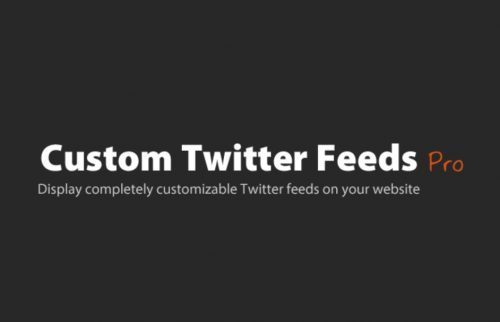 Custom Twitter Feeds Pro (By Smash Balloon) – Customizable Twitter feeds for your website