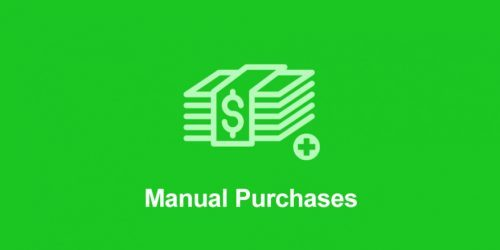 Easy Digital Downloads – Manual Purchases