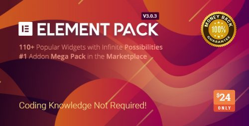 Element Pack – Addon for Elementor Page Builder WordPress Plugin – Codecanyon