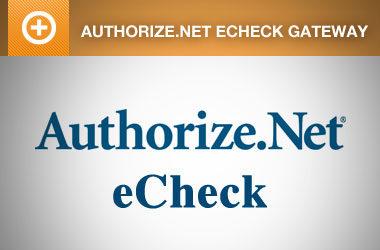 Event Espresso – Authorize.net eCheck Payment Gateway