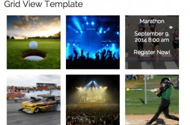 Event Espresso – Events Grid View Template