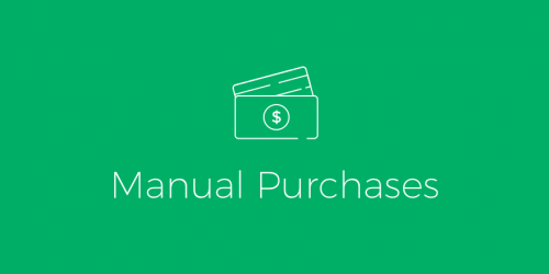 ExchangeWP – Manual Purchases Add-on