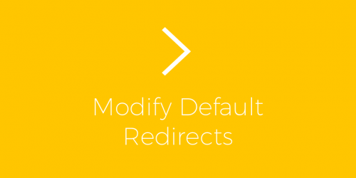 ExchangeWP – Modify Default Redirects