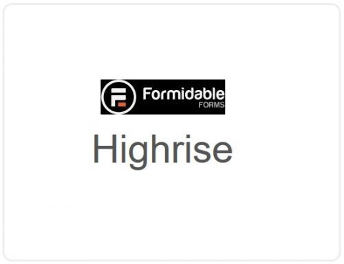 Formidable Forms –  Highrise