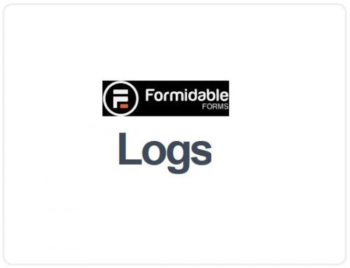 Formidable Forms – Logs