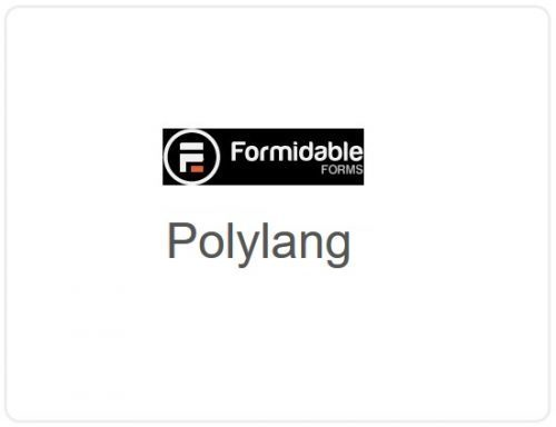Formidable Forms – Polylang