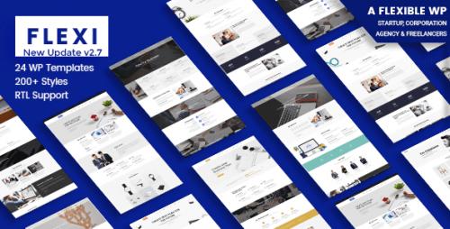 Flexible WordPress Theme | Flexi