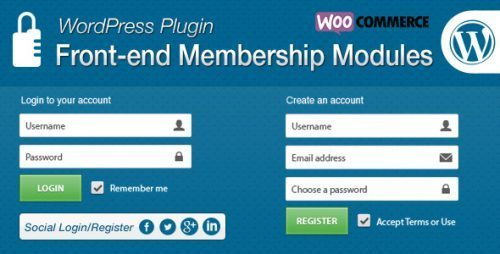 Front-end Membership Modules