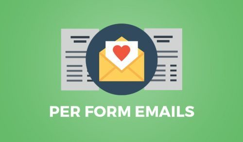 Give – Per Form Emails