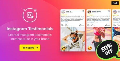 Instagram Testimonials Plugin for WordPress
