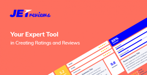 JetReviews – Reviews Widget for Elementor Page Builder – Codecanyon