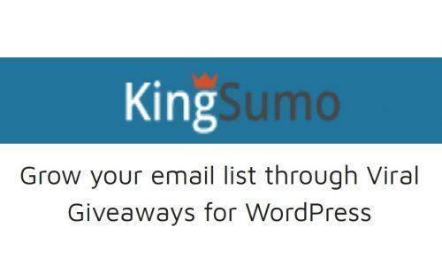 KingSumo Giveaways – Viral Giveaways for WordPress