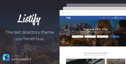 Listify – WordPress Directory Theme