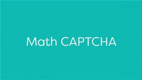 MemberPress – Math CAPTCHA