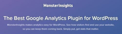 MonsterInsights – The Best Google Analytics Plugin for WordPress