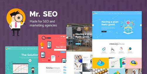 Mr. SEO – A Friendly SEO, Marketing Agency, and Social Media Theme