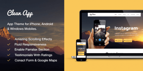 MyThemeShop – CleanApp