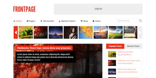 MyThemeShop – FrontPage