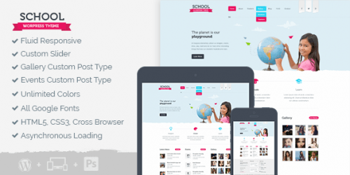 MyThemeShop – School