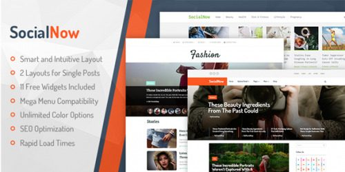 MyThemeShop – SocialNow