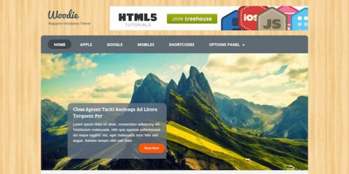 MyThemeShop – Woodie