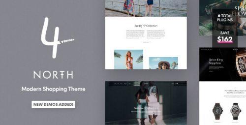 North – Responsive WooCommerce Theme