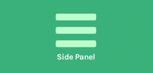 OceanWP – Side Panel