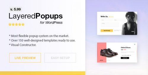 Popup Plugin for WordPress – Layered Popups