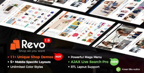 Revo – Universal WooCommerce WordPress Theme with Mobile-Specific Layouts