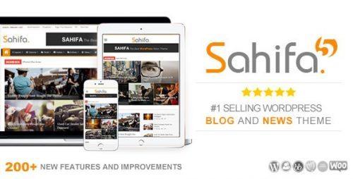 Sahifa – Responsive WordPress News / Magazine / Newspaper Theme