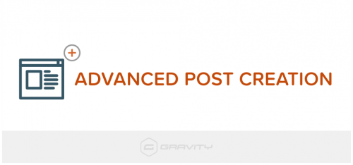 Gravity Forms – Advanced Post Creation Add-On