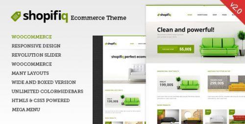 Shopifiq – Responsive WordPress WooCommerce Theme